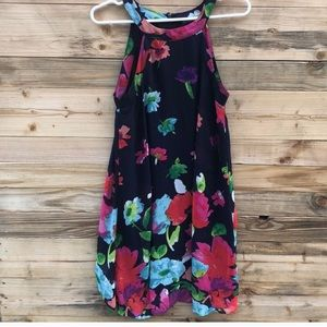 Betsey Johnson | Floral Print Midi Dress size 2